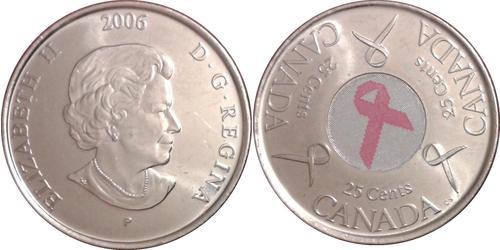 25 Цент Канада Нікель Єлизавета II (1926-)