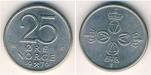 25 Эре Норвегия