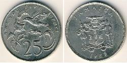 25 Cent 牙买加 銅/镍
