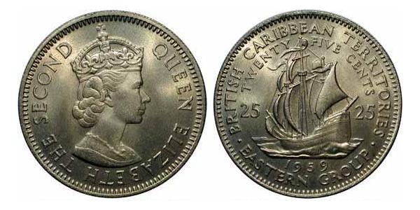 25 Cent  銅/镍