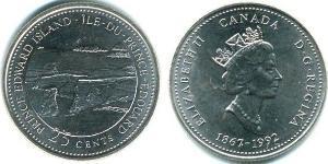 25 Cent Canada Acier