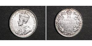 25 Cent Canada Argento Giorgio V (1865-1936)