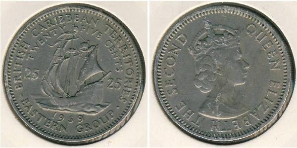 25 Cent  Níquel/Cobre