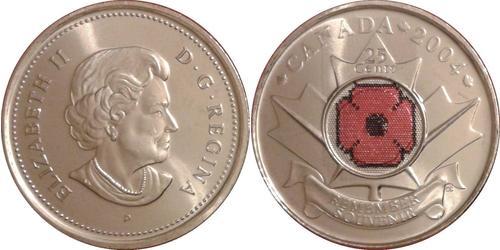 25 Cent Canada Nickel Elizabeth II (1926-)