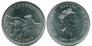 25 Cent Kanada Stahl