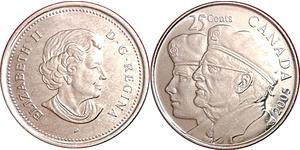 25 Cent 加拿大 Steel