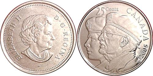 25 Cent Canada Steel