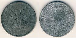 25 Cent Kingdom of the Netherlands (1815 - ) Zinc