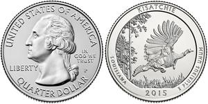 25 Cent / 1/4 Dólar Estados Unidos de América (1776 - ) Plata George Washington