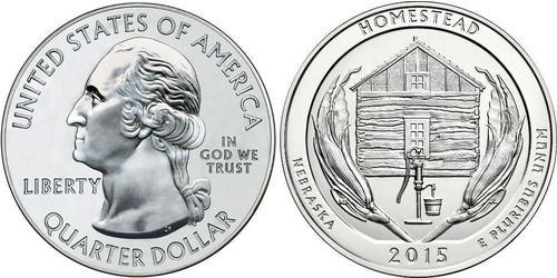 25 Cent / 1/4 Dólar Estados Unidos de América (1776 - ) Plata George Washington