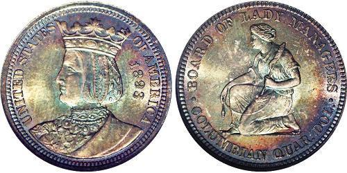 25 Cent / 1/4 Dólar Estados Unidos de América (1776 - )