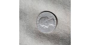 25 Cent / 1/4 Dollar 美利堅合眾國 (1776 - ) 銀/銅 乔治·华盛顿