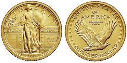 25 Cent / 1/4 Dollar Vereinigten Staaten von Amerika (1776 - ) Gold