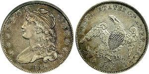 25 Cent / 1/4 Dollar USA (1776 - ) Silver