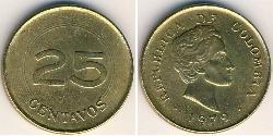 25 Centavo Republic of Colombia (1886 - ) Bronze/Aluminium