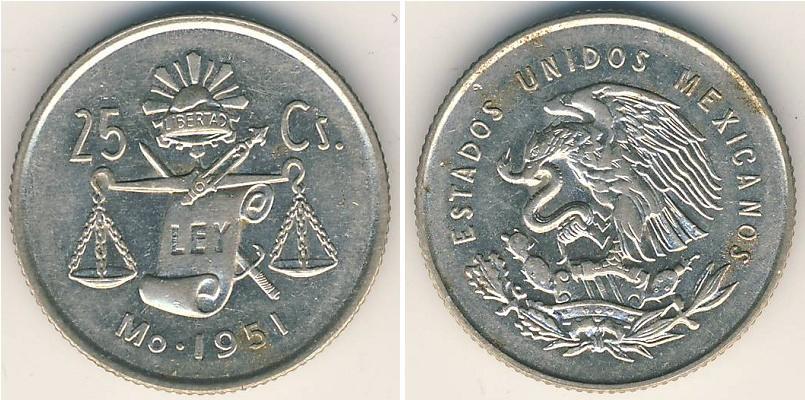 Moneda 25 centavo m xico 1867 plata 1951 precio - Coin de finition plinthe ...