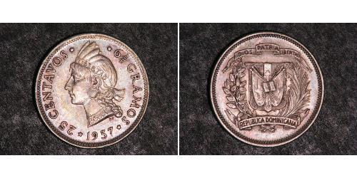25 Centavo Dominican Republic