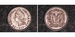 25 Centavo Dominikanische Republik