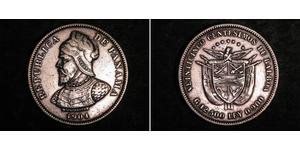 25 Centesimo 巴拿马 銀