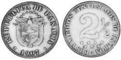 25 Centesimo Republic of Panama Copper/Nickel