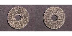25 Centime Morocco / French protectorate in Morocco (1912 - 1956)  Yusef of Morocco  (1882 - 1927)
