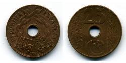 25 Centimo Second Spanish Republic (1931 - 1939) Copper