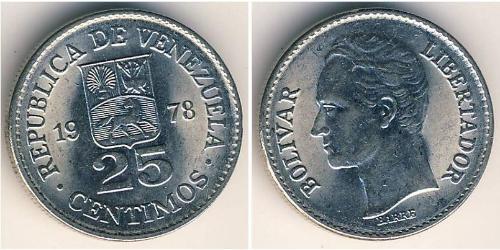 25 Centimo Venezuela Nickel
