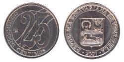 25 Centimo Venezuela