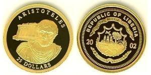 25 Dólar Liberia