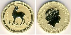 25 Dollar Australia (1939 - ) Gold