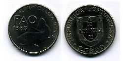25 Escudo Republica Portuguesa (1975 - ) Níquel/Cobre