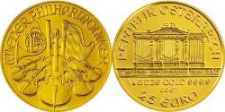 25 Euro Republic of Austria (1955 - ) Gold