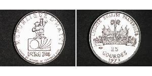 25 Gourde Haiti Silber