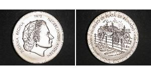 25 Gulden Antilles néerlandaises (1954 – 2010) Argent Juliana of the Netherlands (1909 – 2004)