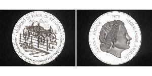 25 Gulden Niederländische Antillen (1954 – 2010) Silber Juliana of the Netherlands (1909 – 2004)