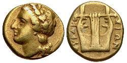 25 Litrai Antikes Griechenland (1100BC-330) Elektrum