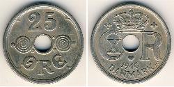 25 Ore Denmark Copper/Nickel