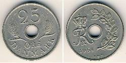 25 Ore Dänemark Kupfer/Nickel