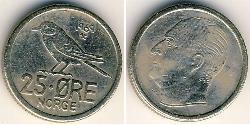 25 Ore Norwegen Kupfer/Nickel
