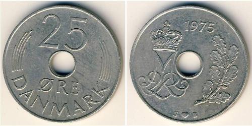 25 Ore Danimarca Rame/Nichel