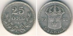 25 Ore Sweden Silver