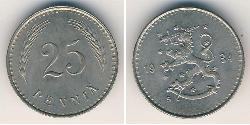 25 Penny Finland (1917 - ) Copper/Nickel