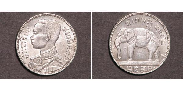 25 Satang Thailand Silber