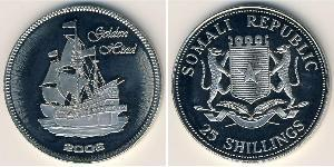 25 Shilling Somalia Kupfer/Nickel