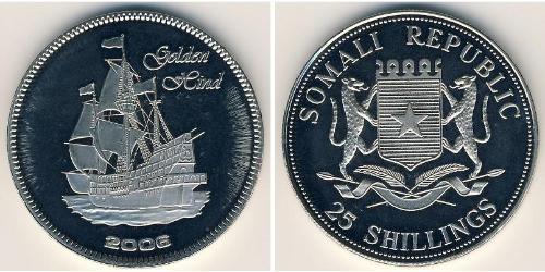 25 Shilling Somalia Níquel/Cobre