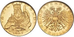 25 Shilling Federal State of Austria (1934-1938) Or
