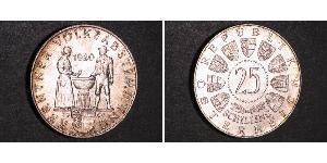 25 Shilling Republic of Austria (1955 - ) Silver