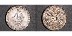 25 Shilling Republic of Austria (1955 - ) Silver Wolfgang Amadeus Mozart