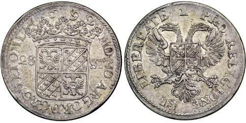 28 Stuiver Dutch Republic (1581 - 1795) Silver