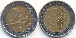2 Євро Королівство Нідерланди (1815 - ) Біметал